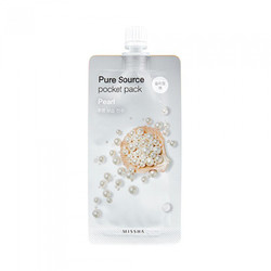 Missha Pure Source Pocket Pack- Маска для лица с экстрактом жемчуга