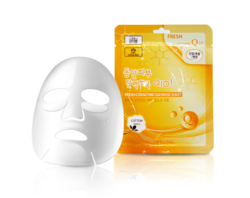 3W Clinic Fresh Coenzyme Q10 Mask Sheet Тканевая маска для лица с коэнзимом Q10, 20 мл