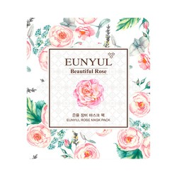 Eunyul Маска тканевая для лица с экстрактом розы - Beautiful rose mask pack, 30мл