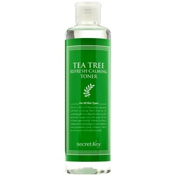 Secret Key Освежающий тонер с экстрактом чайного дерева Tea Tree Refresh Calming Toner, 248 мл