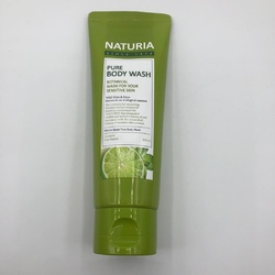 Evas Гель для душа МЯТА/ЛАЙМ PURE BODY WASH (Wild Mint & Lime), 100 мл