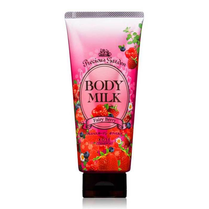 KOSE Молочко для тела PRECIOUS GARDEN Body milk (Fairy berry) 200g