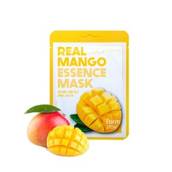 FarmStay Маска тканевая для лица с экстрактом манго - Real mango essence mask, 23мл
